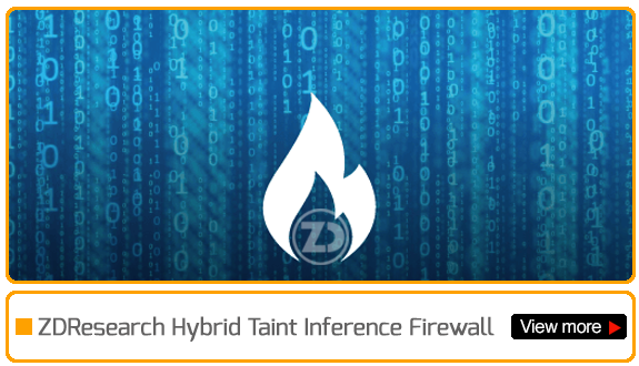 hybrid taint inference firewall